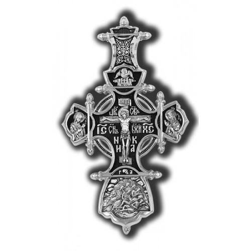 «Божия Матерь «Всецарица». Св. Ксения, Матрона Московская, Николай Чудотворец» 18495