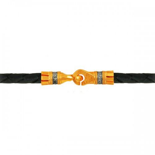 Шнурок с молитвой, ручной работы из натуральной кожи 90013