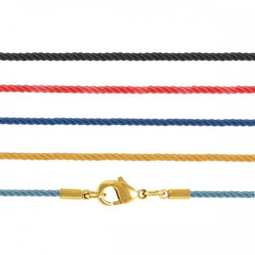 Мягкий текстильный шнурок «Крестильный» 70.008