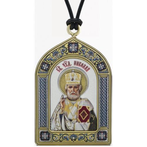Подвесная икона свт. Николай Чудотворец