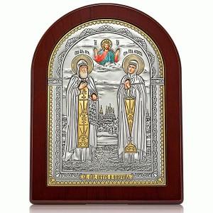 Икона «Святые блгвв. Петр и Феврония» И-ДР-ПФ