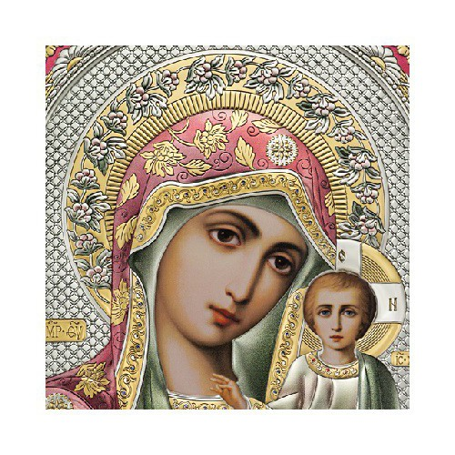 Господь Благословляющий. Казанская икона Божией Матери. Венчальная пара Арт. ВП-ЦШ