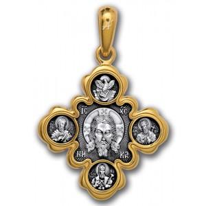 Спас Нерукотворный. Казанская Богородица. Почитаемые святые