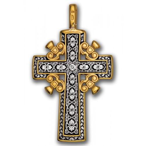 Нательный «Голгофский крест». Мастерская «Акимов» 101.009