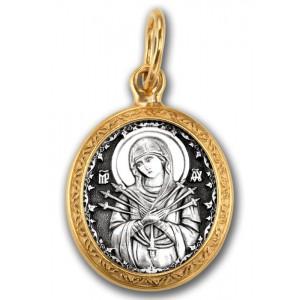 Икона Божией Матери «Семистрельная» 102.206