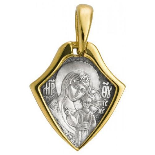 Нательная икона «Божия Матерь Казанская». Молитва 585