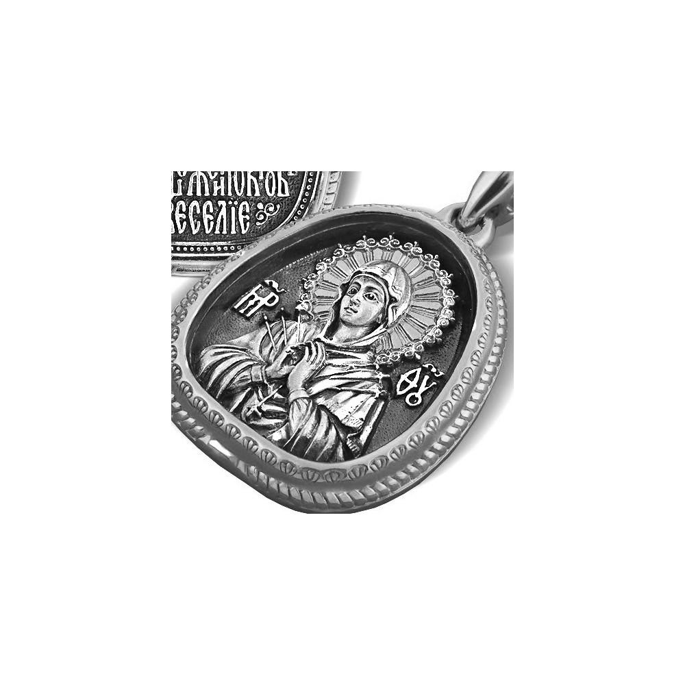 Образ «Икона Божией Матери «Семистрельная» ПД.004с