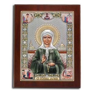 Икона Святая Блж. Матрона Московская