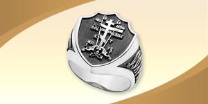Мужское охранное кольцо
