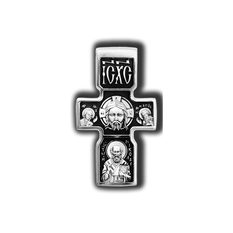 «Спас нерукотворный. Архангел Михаил. Свт. Николай» 18049