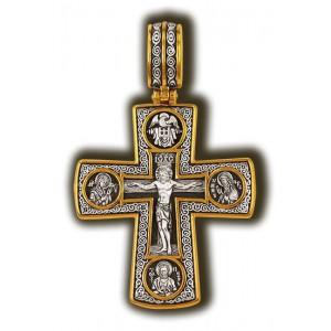 «Распятие. Божия Матерь «Умиление». Апостол Петр. Свт. Николай Чудотворец» 08288