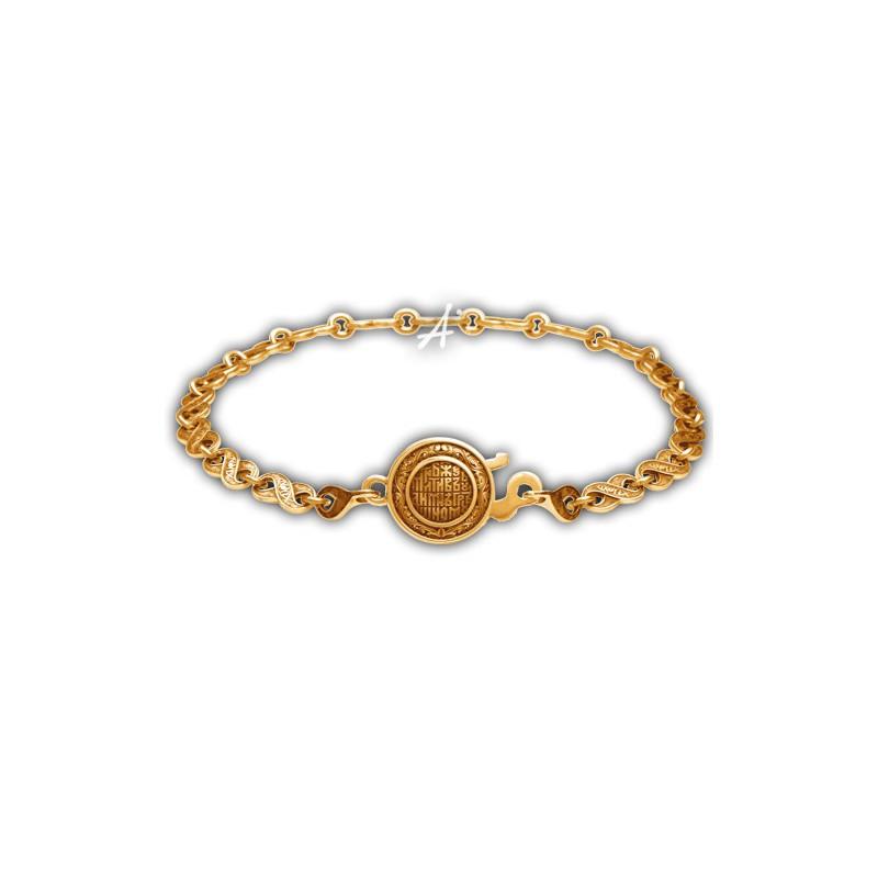 Браслет «Символ бесконечности» с монограммой «Ихтис»