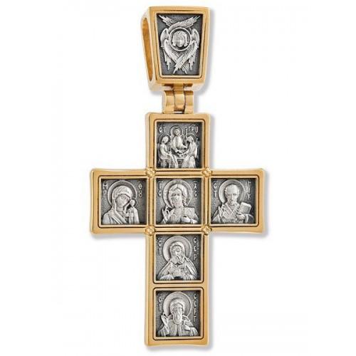 Нательный православный крест «Иконостас»