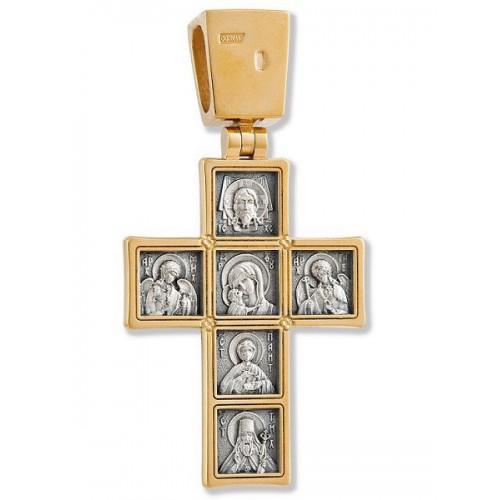 Православный нательный крест «Иконостас» 22123