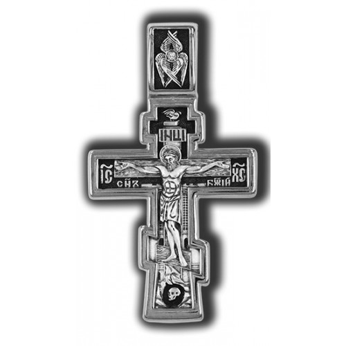 Православный крест. Распятие Христово. Молитва «Да воскреснет Бог» 08330