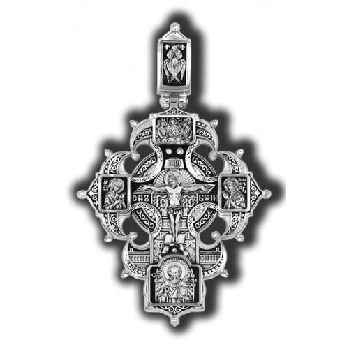 Распятие. Троица. Николай Чудотворец. Ангел-Хранитель. Казанская Богородица. Св. Матрона, Ксения. Св. покровители семьи 18324