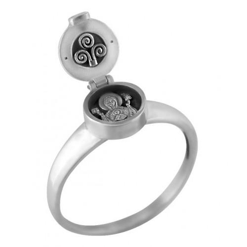 Кольцо-складень с образом Божией Матери «Знамение» 681