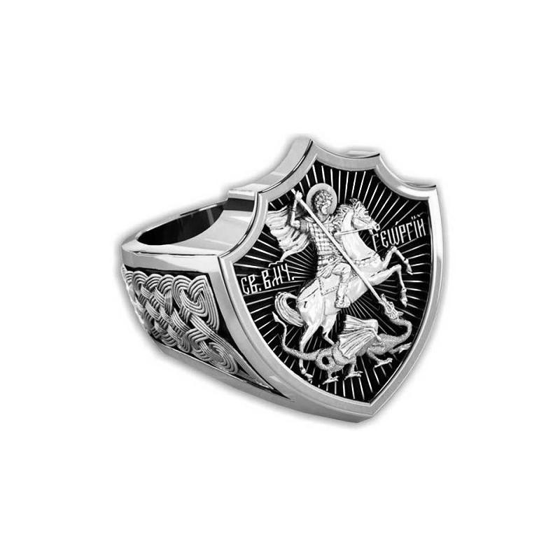 Охранный перстень «Св. вмч. Георгий Победоносец» 651
