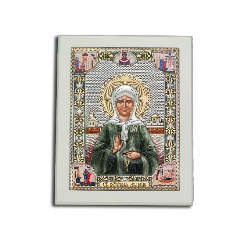 Икона Святая блж. Матрона Московская И-ДРП-ММП