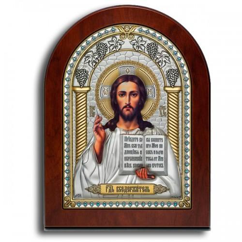 Господь Благословляющий. Казанская икона Божией Матери. Венчальная пара Арт. ФГ-ИХ-КБМ