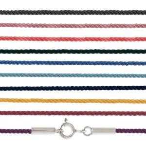 Мягкий и надёжный шелковый крученый шнурок 77.009