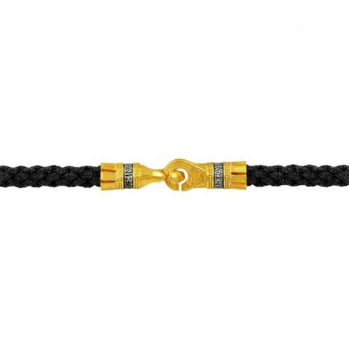 Шнурок с молитвой, ручной работы выполнен из текстиля 900123