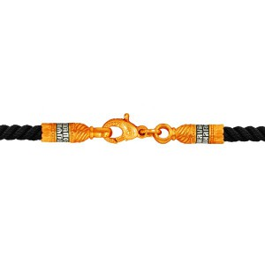 Текстильный шнурок с молитвой, плетеный вручную 900131