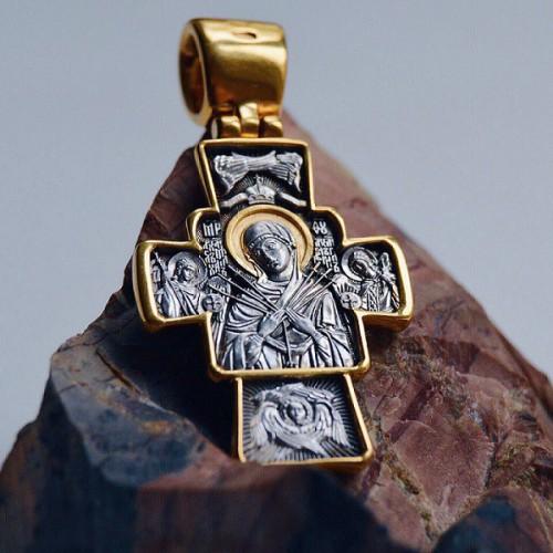 Распятие. Икона Божией Матери «Семистрельная» 101.273