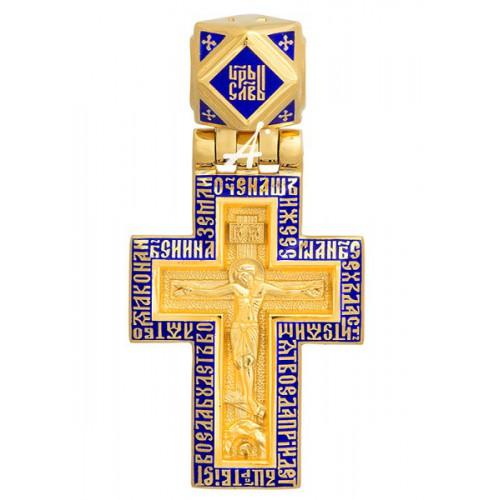 Нательный крест «Распятие. Молитва «Отче наш» 103.299