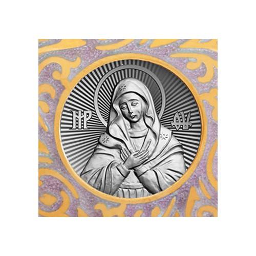 Нательная икона «Божия Матерь Умиление» 02.079