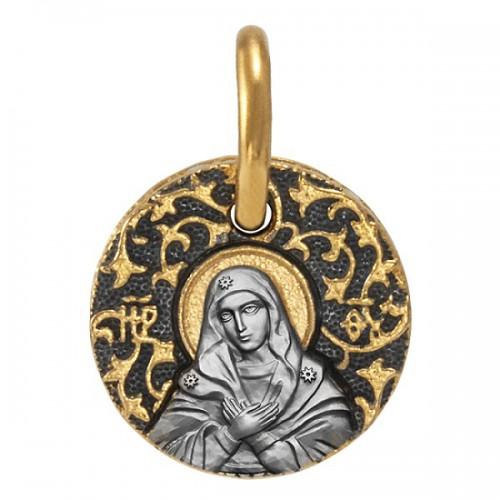 Нательная икона «Божия Матерь Умиление» 02.105