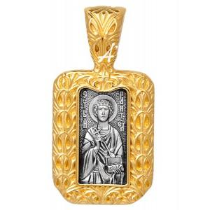 Нательная икона «Пантелеимон Целитель» 102.290