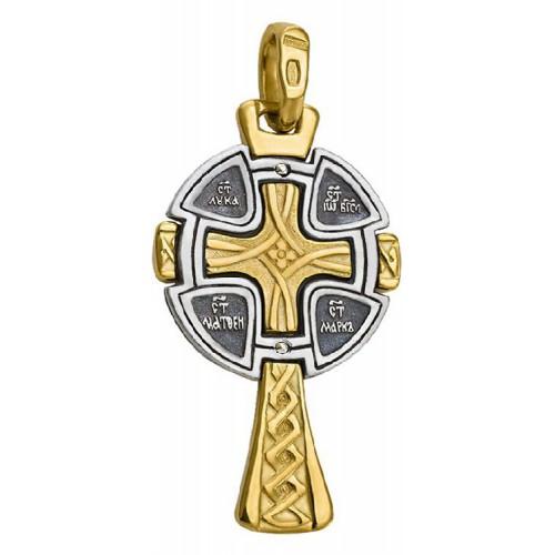 Нательный православный крест «Четыре Евангелиста» 570