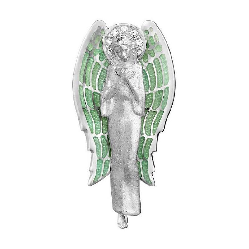 Подвеска с эмалью «Ангел Хранитель. Молитва»
