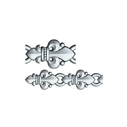 Браслет «Лилии» орнаментом в православном стиле 40.764