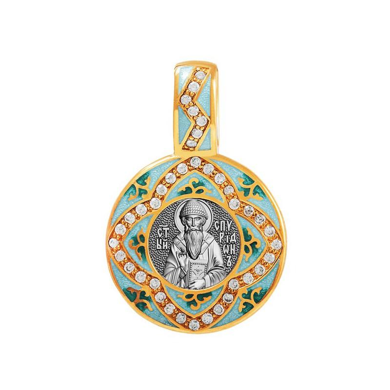 Образок «Святитель Спиридон Тримифунтский» 02.081-1