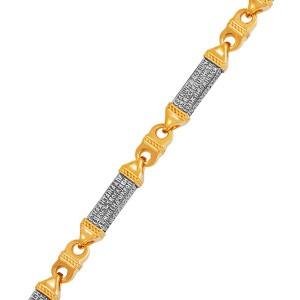 Серебряный браслет с позолотой «Псалом 50» 11.097