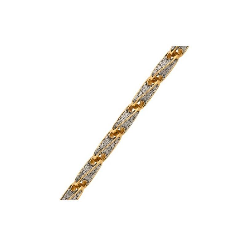 Серебряная цепь «Древлерусская» 04.136