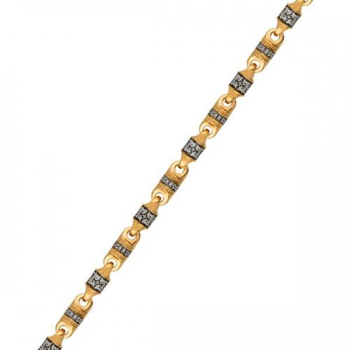 Серебряная цепь «Спаси и Сохрани» 04.198