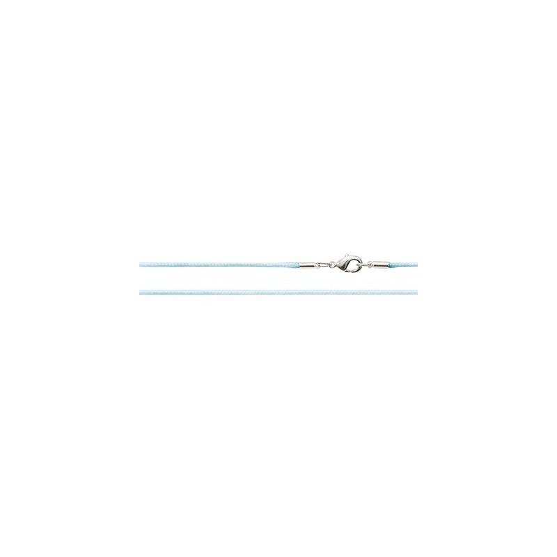Шёлковый шнурок «Крестильный» светло-голубой 70.012