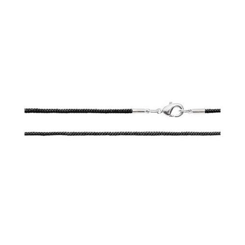 Шёлковый шнурок «Крестильный» черный 70.016