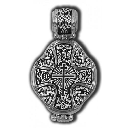 Матрона Московская. Божия Матерь Взыскание погибших. Восьмиконечный крест