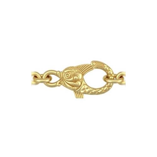 Позолоченная православная цепь «Птицы Небесные»