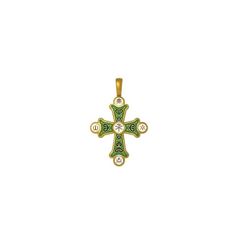 Крестик «Хризма. Монограммы Евангелистов» 19.006-1