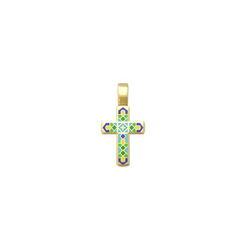 Нательный православный крест «Спаси Господи»19.014