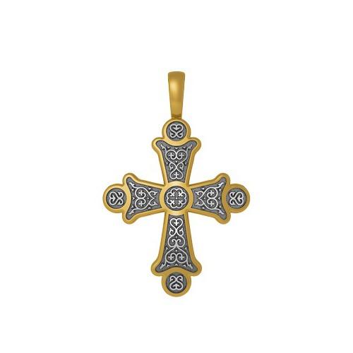 Нательный крест «Хризма. Монограммы Евангелистов» 17.011