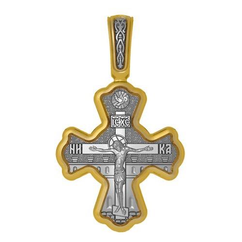 Нательный православный крест. Великомученик Пантелеимон Целитель 04.104