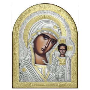 Казанская икона Божией Матери Арт. 744-OVX-FL