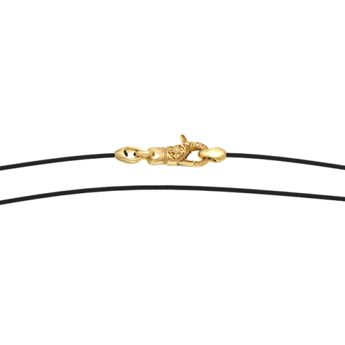 Ювелирный шнурок на шею с нейлоновой нитью