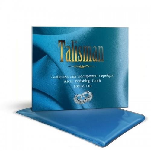 Салфетка для чистки и полировки серебра, 18х18 см